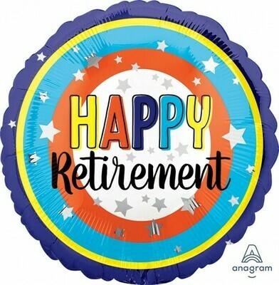 Happy Retirement Colorful