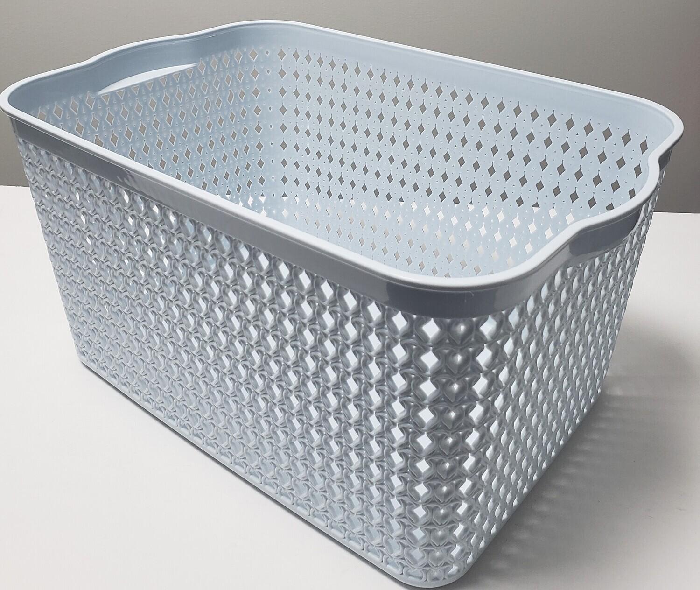 Plastic Basket-38.5x26x19.5cm