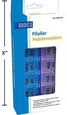 Bodico Weekly Pill Box Organizer