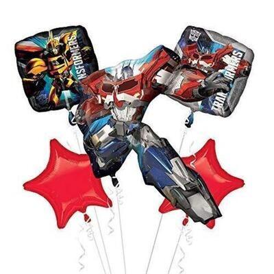 Transformers Balloon Bouquet