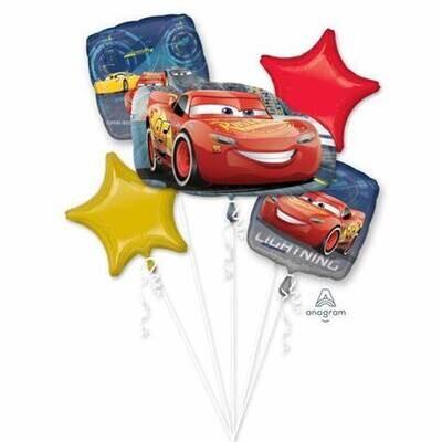 Cars 3 Balloon Bouquet