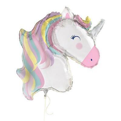 42″Unicorn Rainbow Pestle Balloon