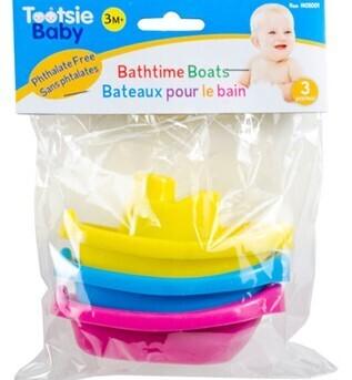 Tootsie Baby 3-pc Bath Boat