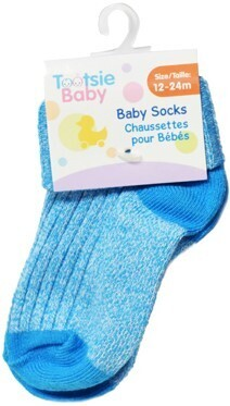Tootsie Baby, 12-24m, Marl Socks