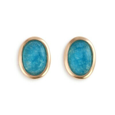 Aquamarine Gold Giving Earrings