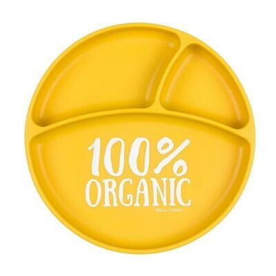 100% Organic Sectioned Plate