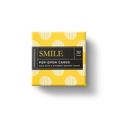 Thoughtfulls Pop-Up Cards - Smile