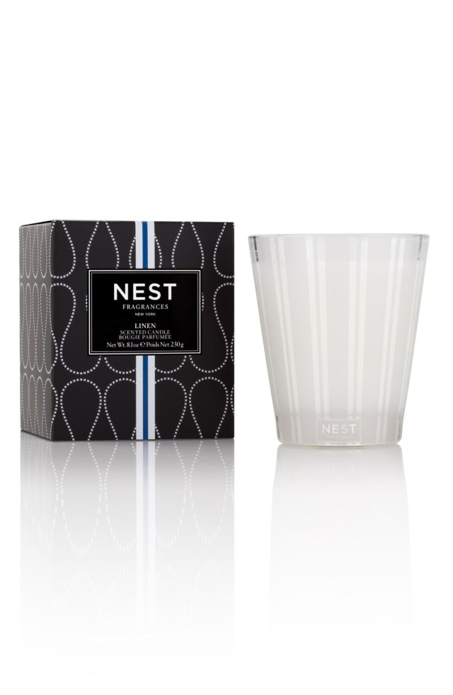 Linen Classic Candle