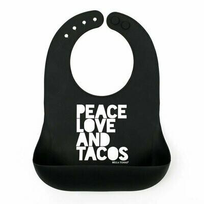 Peace Love Tacos Wonder Bib