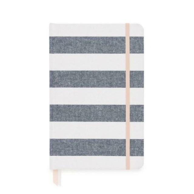 Chambray Stripe Cloth Journal