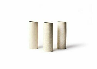 Blush Tube Vase Set of 3