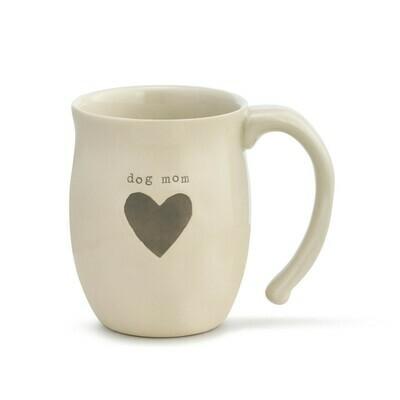 Dog Mom Heart Mug