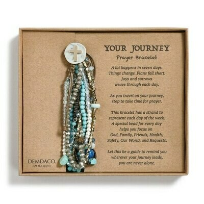 Your Journey Turquoise Prayer Bracelet