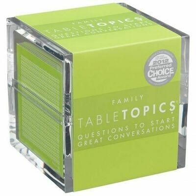 Family Table Topics Conversation Cards