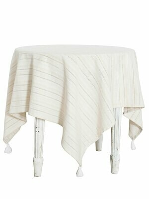 Ribbon Lace Stripe Tablecloth