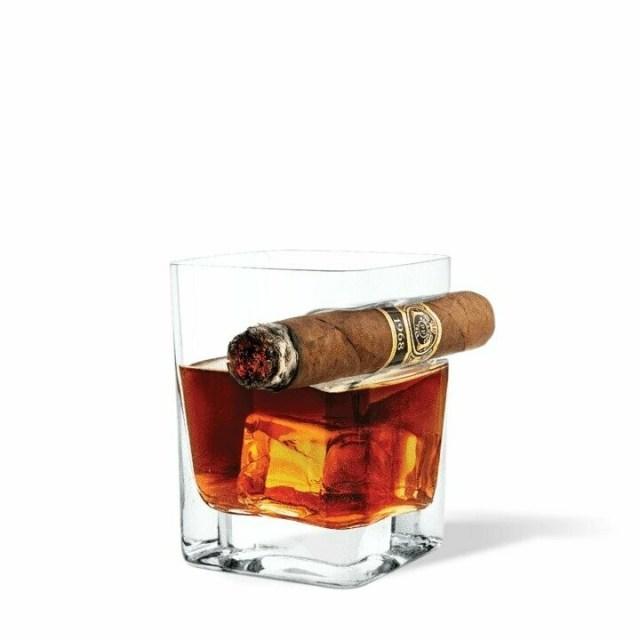 Cigar Rocks Glass
