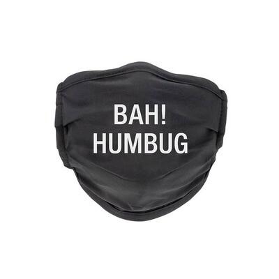 Bah Humbug Face Mask