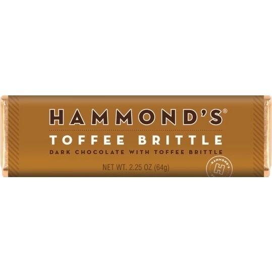 Toffee Brittle Dark Chocolate Candy Bar