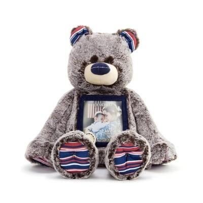 Military Here To Hug Bear