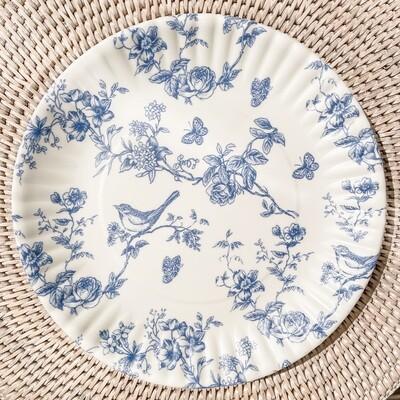 Garden Toile Melamine Plate