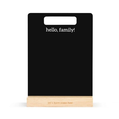 Family Chalkboard Sign
