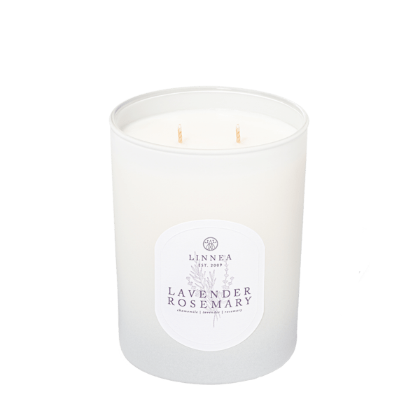 Lavender Rosemary 2-Wick Candle