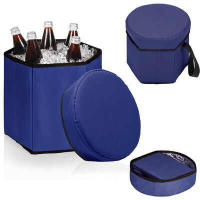 Navy Bongo Collapsible Cooler Seat