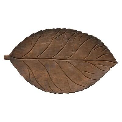 Mango Wood Leaf Tray