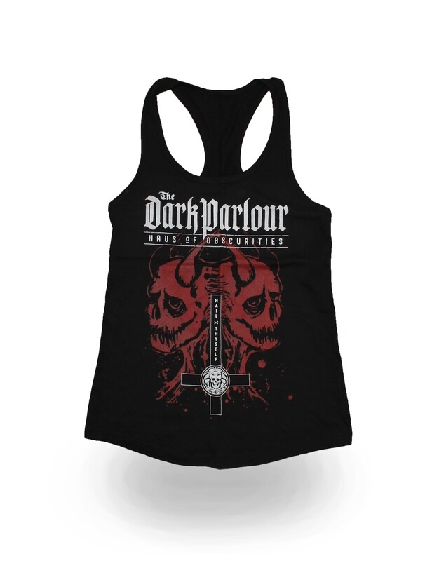 Two Headed Demon Athletic Tank (Girls/Racerback)