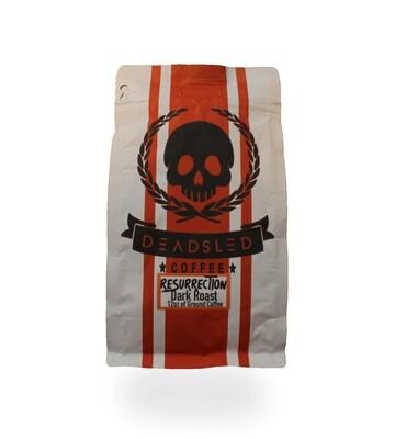 Dead Sled Coffee - Resurrection Dark Roast (Ground)