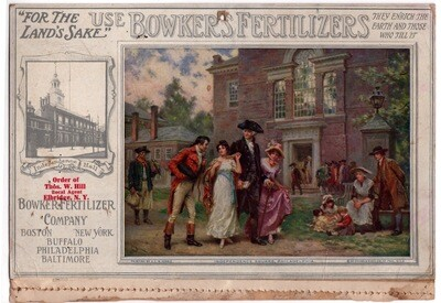 Bowker's Fertilizer Co. 1914 Calendar