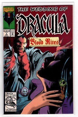 Wedding of Dracula #1 Blood Rites 1998