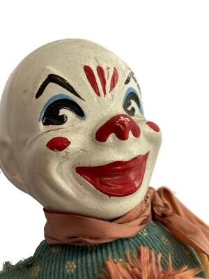 Antique Felt & Composition Clown