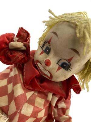Windup Music Box Clown Doll