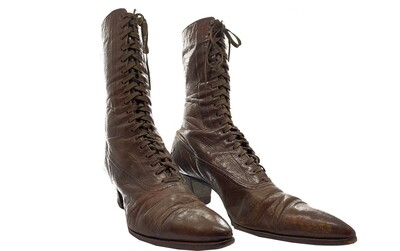 Late Victorian/Edwardian Ladies Boots