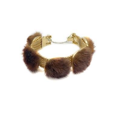 CBMO 1950s PIK NY Mink Bracelet