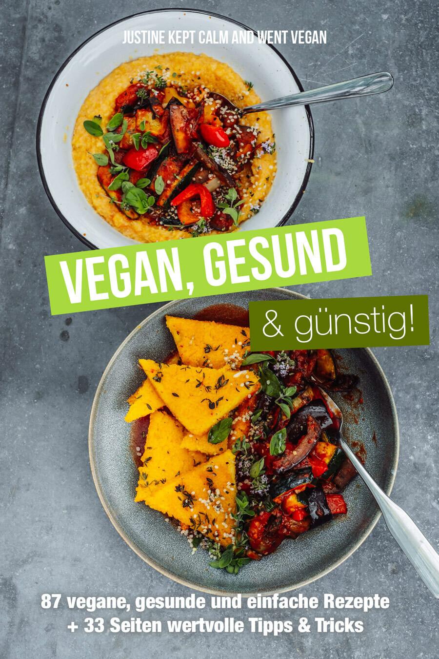 eBook: Vegan, Gesund & Günstig