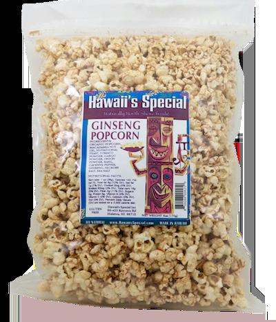 Ginseng Popcorn, 6 oz