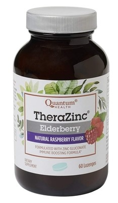 TheraZinc Elderberry Lozenges