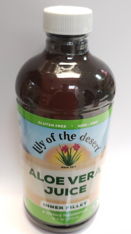 Lily Of The Desert Aloe Vera Juice Dietary Supplement, 16 Oz