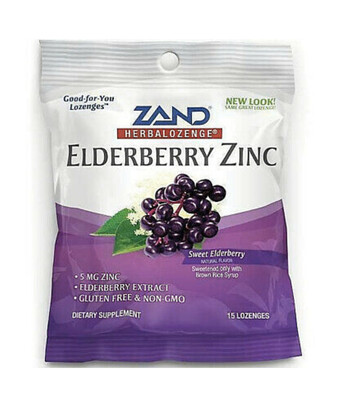 Zand Elderberry Zinc Lozenges