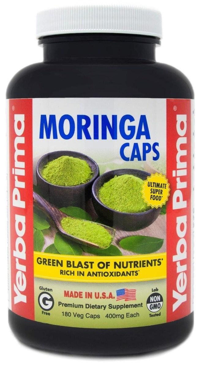 Yerba Prima Moringa capsules