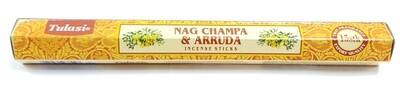 Tulasi: Nagchampa & Arruda Stick Incense (1 Unit 15 Sticks)