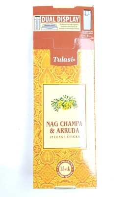 Tulasi: Nagchampa & Arruda Stick Incense Box (6 Units 15 Sticks each)