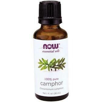 Now Essential Oils-Camphor 100% Pure Oil 1 fl.oz