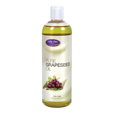 Life-Flo Pure Grapeseed Oil 16oz