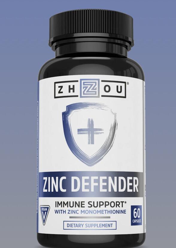 Zhou Nutrition Zinc Defender