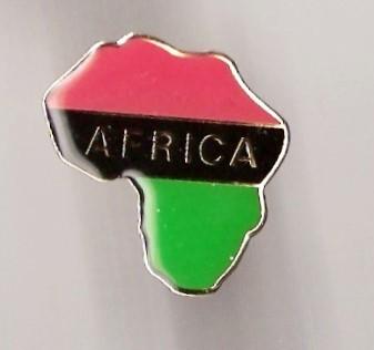 Afrika Map Pin
