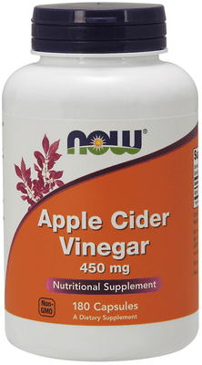 Now- Apple Cider Vinegar 750mg-180 tablets