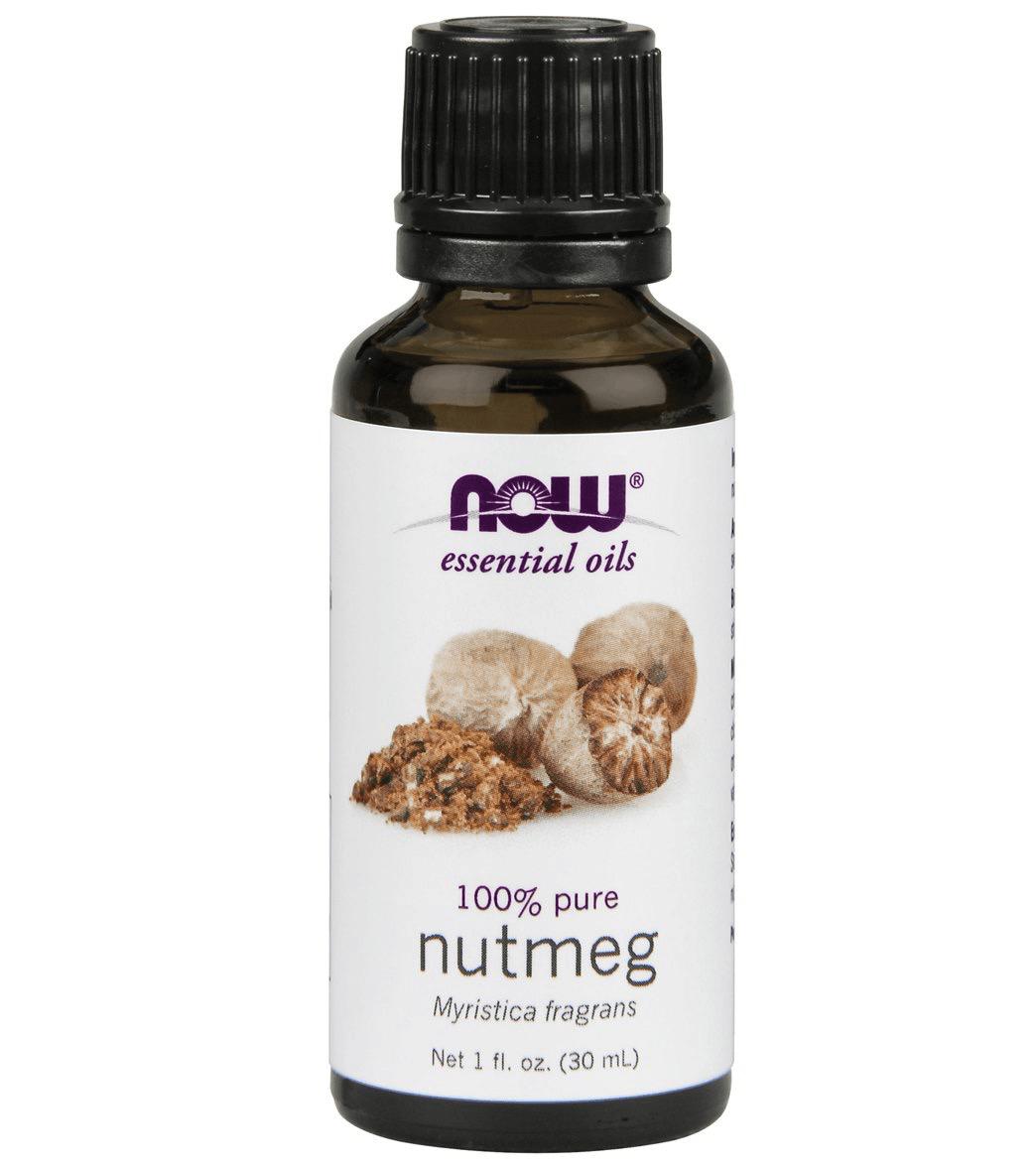 Now Essential Oils - Nutmeg 100% Pure Oils 1 fl.oz